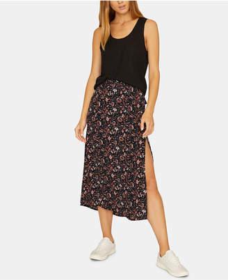 Sanctuary Hollyhock Printed Midi Skirt