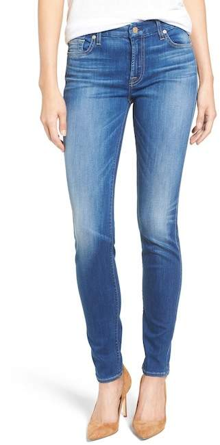 7 For All Mankind7 For All Mankind Faded Skinny Jean