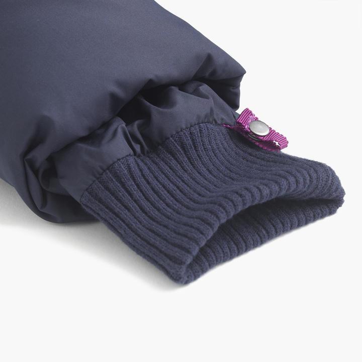 Girls' tie-front puffer jacket 2