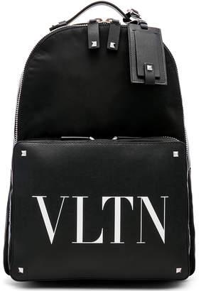 Valentino VLTN Backpack in Black & White | FWRD