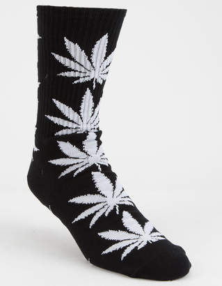 HUF Plantlife Black Mens Crew Socks