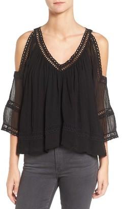 Women's Rebecca Minkoff Deneuve Crochet Blouse $248 thestylecure.com