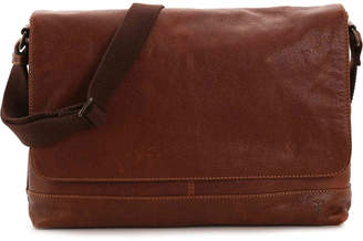 Frye Owen Leather Messenger Bag - Men's