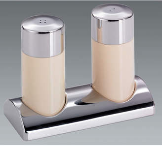 Wesco Salt and Pepper Shaker Set with Candle Hold Stand