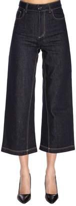 e757d8219947 Fendi Blue Women s Pants - ShopStyle