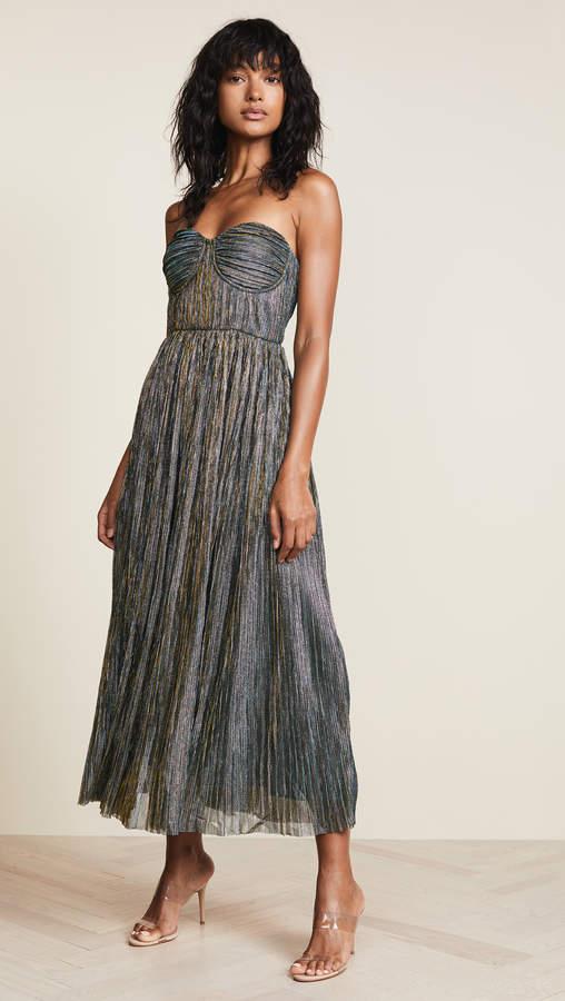 Glamorous Metallic Strapless Dress 687bb854a8e