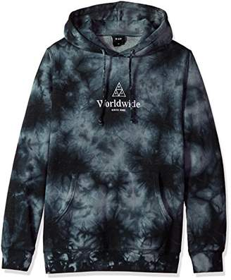 HUF Men's Ww Tt Crystal Wash P/o Hoodie