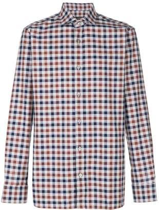 Ermenegildo Zegna checked button-down shirt