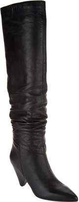 Marc Fisher Leather Slouch Tall Shaft Boots - Pagie