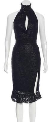 Altuzarra Lace Midi Dress Black Lace Midi Dress
