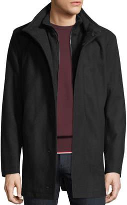 Andrew Marc Men's Coyle Melton Wool-Blend Car Coat