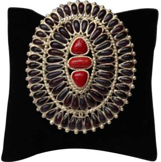Chanel Red Pin & Brooche