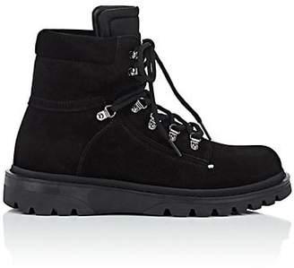 Moncler Men's Egide Suede Hiking Boots - Black