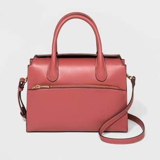 A New Day Flap Closure Satchel Handbag