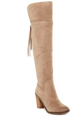 Franco Sarto Ellyn Over-the-Knee Boot $225 thestylecure.com