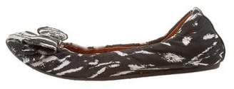 Lanvin Bow-accented Ballet Flats