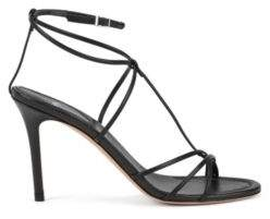 BOSS Hugo Gallery Collection sandals in Italian leather 7 Black