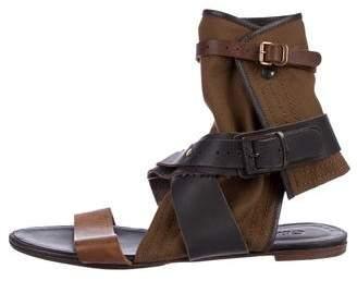 Chloé Leather Gladiator Sandals
