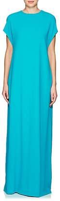 Lisa Perry Women's Flyaway Crepe Gown