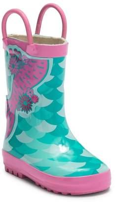 LILLY OF NEW YORK Mermaid Rain Boot (Toddler)