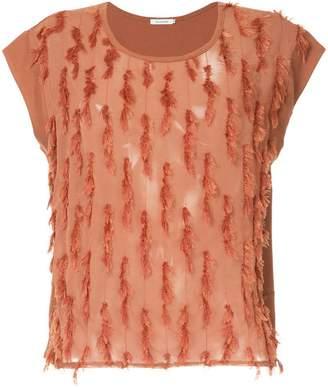 GUILD PRIME fringe blouse
