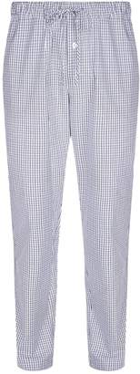 Hanro Woven Check Pyjama Bottoms