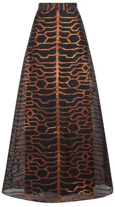 Temperley London Tapis Long Skirt