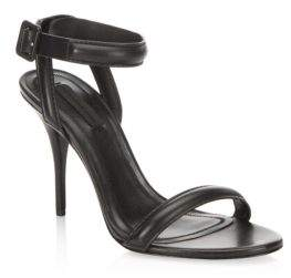Alexander Wang Antonia Leather Ankle-Strap Sandals