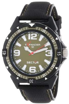 Sector Men's R3251197003 Expander90 Multi-Function Analog Cloth Watch
