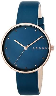 Cross [クロス 腕時計 ブルー文字盤 CR9054-05 レディース 【正規輸入品】