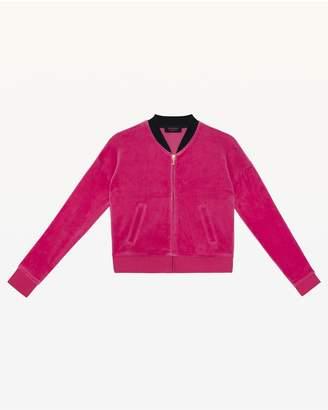 Juicy Couture Juicy Magnifique Velour Westwood Jacket for Girls