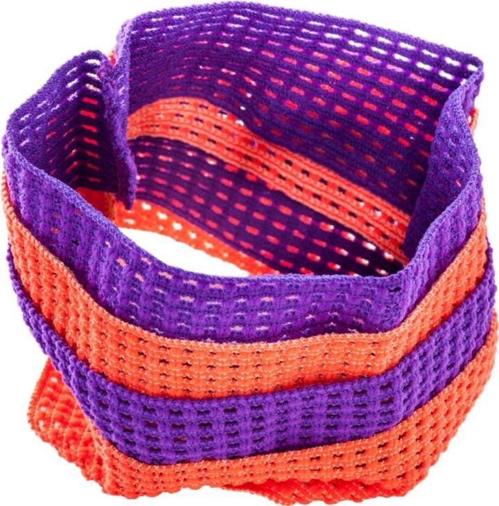 Ulta Knit Headwraps Purple/Orange 4ct