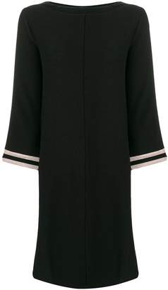 DAY Birger et Mikkelsen Luisa Cerano contrasting sleeves shift dress