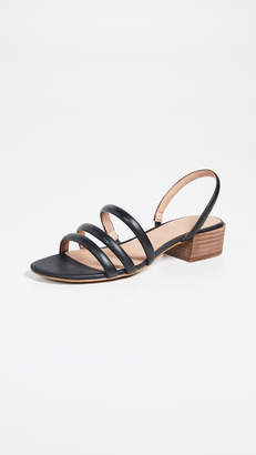 Madewell The Addie Slingback Sandals