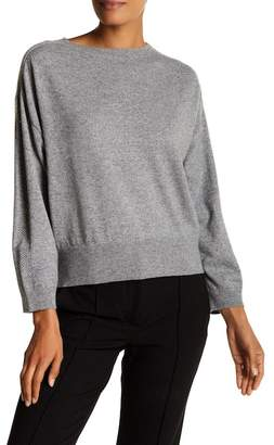 Lafayette 148 New York Daisy Metallic Dolman Sweater