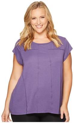 Lucy Extended Effortless Ease Short Sleeve Women's Short Sleeve Pullover