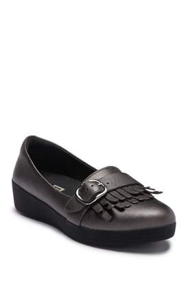 FitFlop Buckle Kilted Sneakerloafer