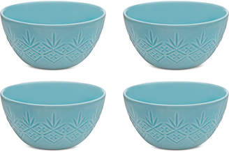 Godinger Dublin Blue 4-Pc. Bowl Set