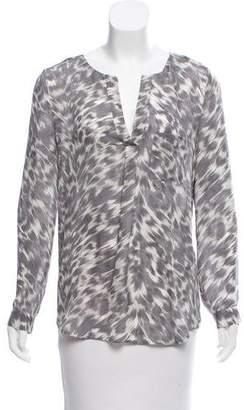 Joie Silk Long Sleeve Top