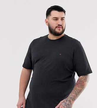 Big & Tall icon logo t-shirt slim fit in black
