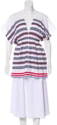 Lemlem Striped V-Neck Tunic
