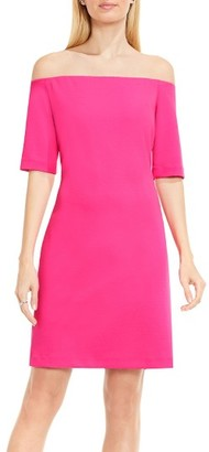 Women's Vince Camuto Off The Shoulder Knit Dress $119 thestylecure.com