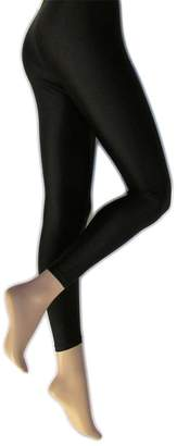 Silky Womens/Ladies Shimmer Look Fashion Leggings (1 Pair)