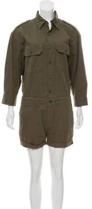 Nlst Button-Up Long Sleeve Romper