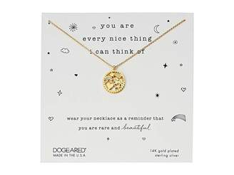 Dogeared You Are Every Nice Thing, Magical Multi-Icon Pendant Necklace