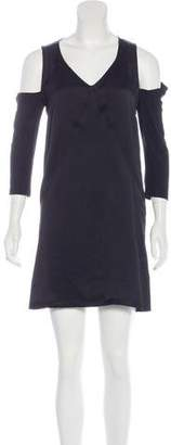 See by Chloe Cold-Shoulder Mini Dress