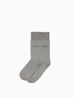 Calvin Klein egyptian cotton flat knit socks
