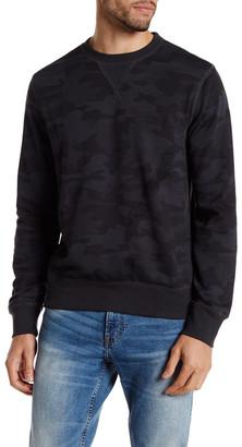 Joe Fresh Camo Crew Neck Pullover $29 thestylecure.com