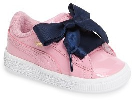 Toddler Girl's Puma Basket Heart Sneaker $54.95 thestylecure.com