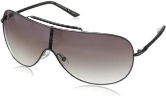 BCBGMAXAZRIA Women's B858 Shield Sunglasses